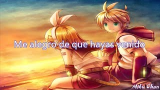 Repeat youtube video Nightcore - Glad you Came(Sub Español)
