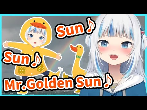 Baby Gura believes she can control the weather【HololiveEN/JP sub】【Gawr Gura/がうるぐら】