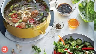 Miso Noodle Soup With Meatballs   Our Favorite Recipes   Cooking Light