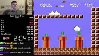 The day Super Mario Bros. any% almost died