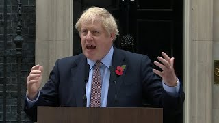 Boris Johnson officially calls General Election: watch in full