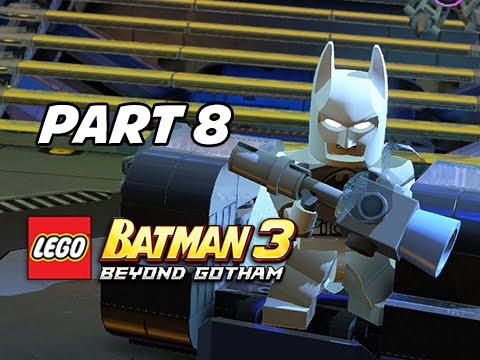 Lego Batman 3 Beyond Gotham Walkthrough Part 8 - Arctic Suit Batman ...