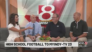 News 8 Daybreak at 7 a.m.introduces our ISC Football broadcast partners