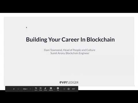 Building your Career in Blockchain