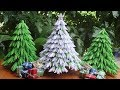 3D Origami Christmas Tree V3 Tutorial | DIY Paper Christmas Tree Christmas Ornament