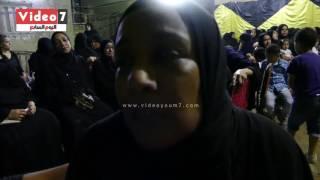 والدة الشهيد حسن محمد فى عزاءه الإخوان غدارين اوعوا تدوهم الأمان رسالة مؤثر من