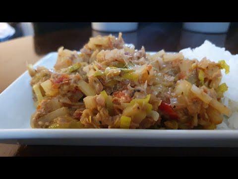 1-leek,-2-(potatoes,tomatoes,-onions)-and-100g-tuna-/-recette-en-15mins