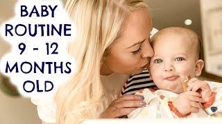 BABY ROUTINE  (9 - 12 MONTHS OLD)     BABY FEEDING & SLEEPING SCHEDULE     EMILY NORRIS