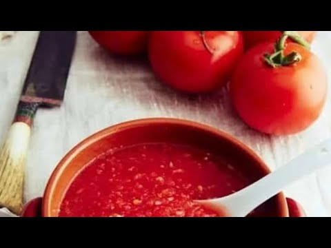 Вопрос: Как сделать томатный соус?
