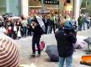 The Charlatans - busking in Manchester - Oh! Vanity