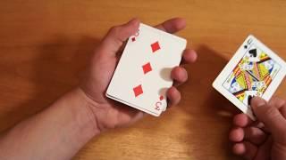 Бесплатное обучение фокусам #54: Фокусы с картами! Карточные фокусы обучение!