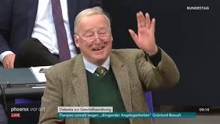 Debatte zur Feststellung der Tagesordnung  im Bundestag am 09.05.19