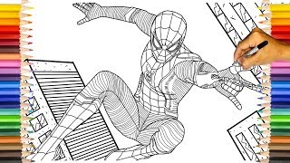 spider-man-far-from-home-upgraded-suit-spider-man-far-from-home-coloring-pages