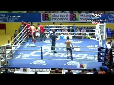 Professional Muay Thai Boxing from Lumphinee Stadium on 2015-01-24 at 4 pm