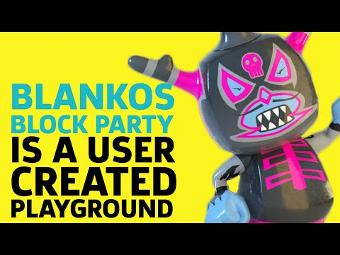 Blankos Block Party Is A User Generated Playground