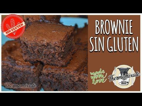 Brownie SIN GLUTEN con Thermomix 🍫🍪