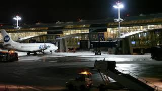 Вечер в аэропорту Внуково