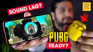 Watch This Before Buying Realme Buds Air for PUBG Mobile 🔥 Audio Latency Test | Sound Lag/Delay?