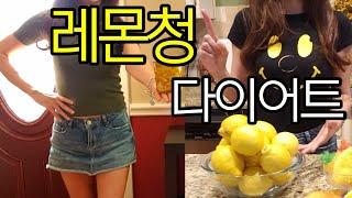 (미국일상)레몬청으로 건강한 다이어트 성공! 레몬껍질1…