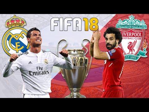 🏆 SIMULANDO A FINAL DA CHAMPIONS - ⭐ Real Madrid x Liverpool 🔴 - Melhores Momentos da LIVE