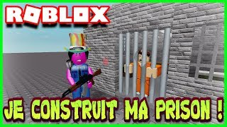 I'M BUILDING MY PRISON! Roblox Jail Tycoon
