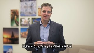 Dr. Grant Tarling Medical Update with Enhanced Screening and Preventive Health Measures