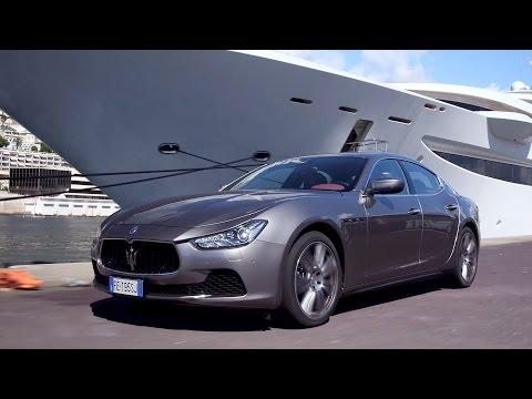2017 Maserati Ghibli media test drive - Monte Carlo, Monaco