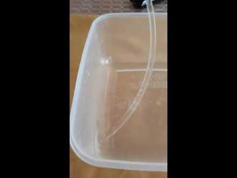 4,5 Volt Mini Dalgıç Su Pompası Saatlik 100 Litre Kapasiteli