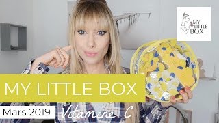 my Little Box Mars 2019 - Vitamine C