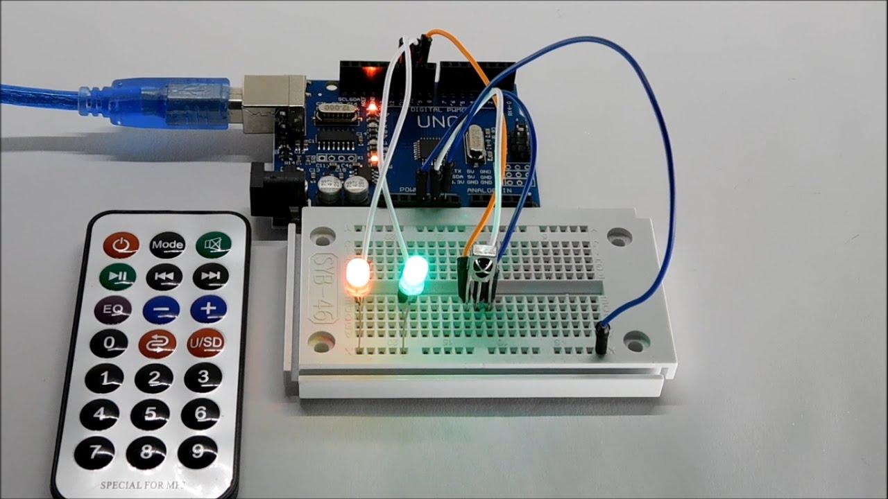 Fernbedienung am arduino verwenden tutorial arduinolab