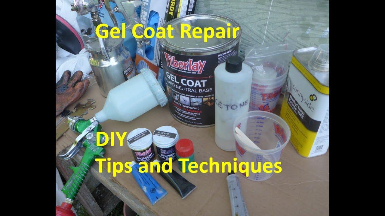 Gel Coat: How to Apply by Spray Gun
