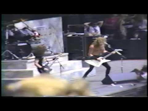Metallica Harvester of Sorrow  in Miami  FL 1988