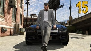 "Grand Theft Auto V Walkthrough - Part 15 ""Sticky Bomb Party"" (Let"