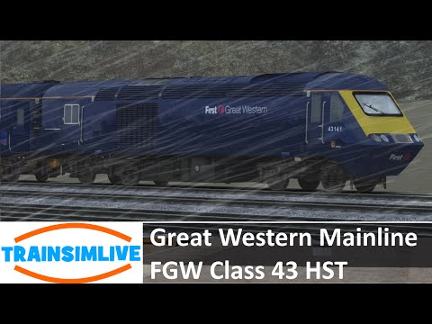Train Simulator 2015 - Great Western Mainline, Class 43 HST FGW
