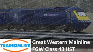 Train Simulator 2015 - Great Western Mainline, Class 43 HST FGW