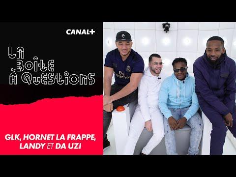 Youtube: La Boîte à Questions de GLK, Hornet La Frappe, Landy et Da Uzi – 12/12/2019