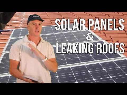 SOLAR PANELS AND LEAKING ROOFS - Queensland Roofing