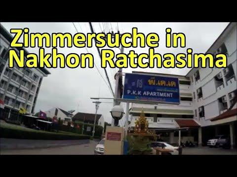 Auf Zimmersuche in Nakhon Ratchasima