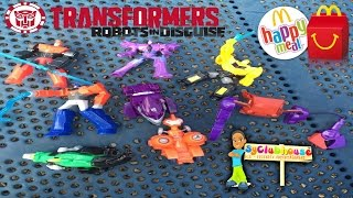 2015 McDONALDS TRANSFORMERS HAPPY MEAL | ROBOTS IN DISGUISE