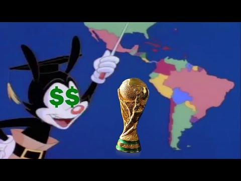 Its Yakko's World But its Only the Countries That Have Ever Won the World  Cup