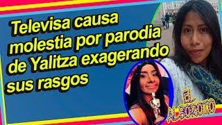 Homenaje o burla, asi parodia Televisa a Yalitza y genera debate en redes