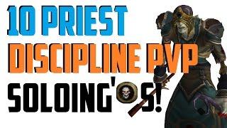 Kahr - Level 10 Discipline Priest Twink PvP - Legion Patch 7.0.3