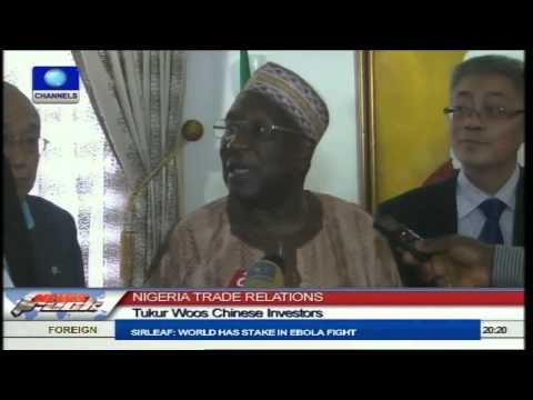 Tukur Seeks More Chinese Investment In Rail Transport Sector