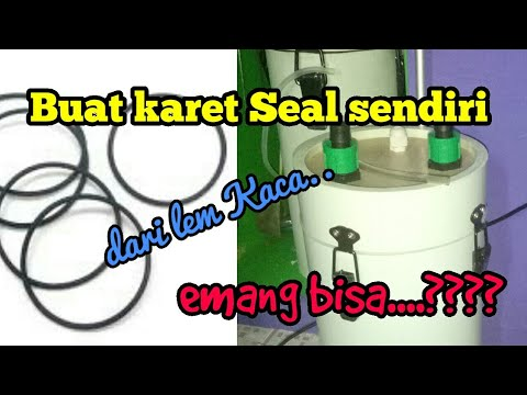 Membuat Seal O Ring Sendiri Youtube