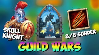 Skull Knight Sunder With Deadly Strike Guild Wars Castle Clash