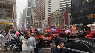 ⁴ᴷ⁶⁰ Midtown Manhattan Helicopter Crash June 10, 2019 Walkthrough