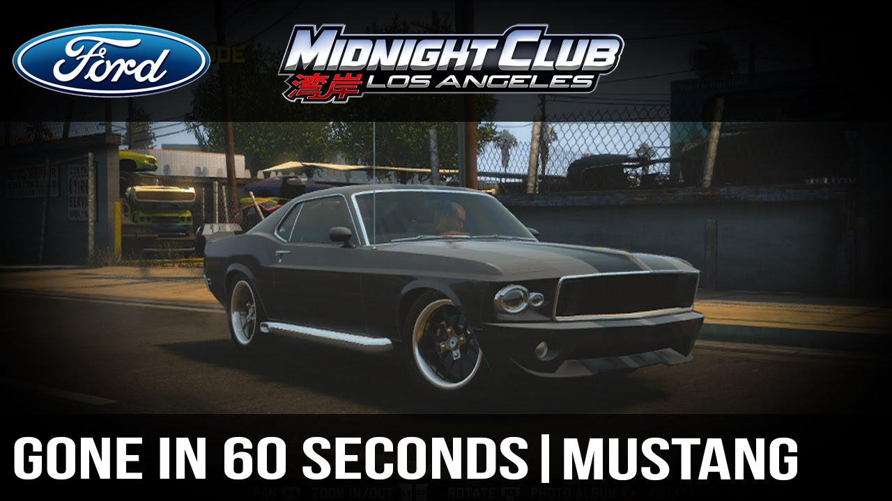 How to make full tutorial midnight club l a eleanor mustang