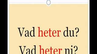 Начните говорить по шведски - шведский по скайпу