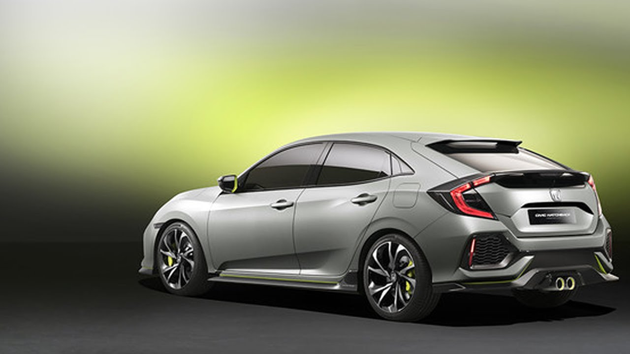 The Honda Civic Hatchback Race Cars And Rock Stars Live Stream Reveals From 2016 NY Auto Show