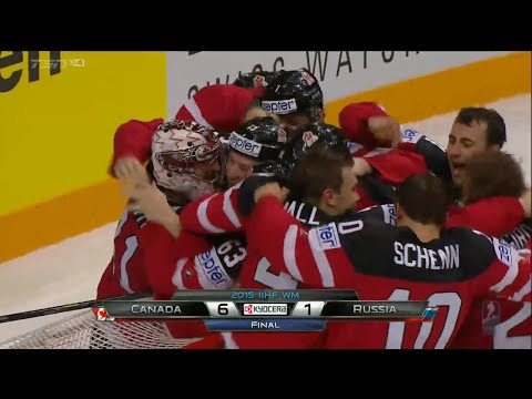 Team Canada Wins Gold at the 2015 IIHF Championships